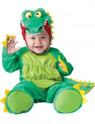 Krokodil-Babykostüm Tierkostüm grün-gelb