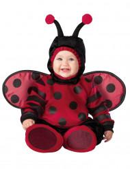 Kostüm Marienkäfer für Babys Deluxe rot-schwarz