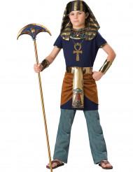 Deluxe Kinder-Kostüm Ägyptischer Pharao dunkelblau-gold