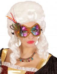 Schmetterling-Augenmaske für Erwachsene bunt