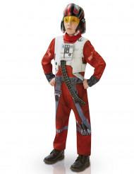 X-Wing Fighter Deluxe Teenkostüm Lizenzware rot-grau