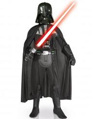 Deluxe Darth Vader Lizenz-Kostüm für Kinder schwarz