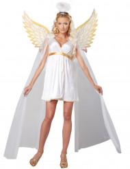Göttlicher Engel Damenkostüm weiss-gold