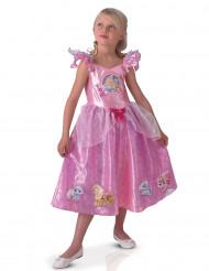 Disney Palace Pets Prinzessin Kinderkostüm mit Glitzer Lizenzware rosa-pink
