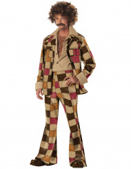 Funky Disco King Kostüm bunt