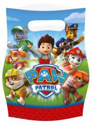 Paw Patrol Geschenktüten Lizenzartikel rot-bunt  16 x 23 cm