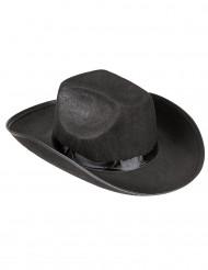 Klassischer Cowboy-Hut schwarz