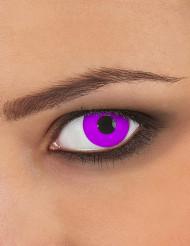 Kontaktlinsen lila