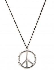 Peace Amulett silber 6,5cm