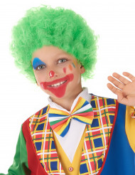 Clown Kinderperücke grün