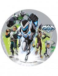Max Steel™ Zuckerplatte Kuchendeko Lizenzware 20,5cm