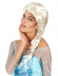 Blonde Prinzessinnenperücke mit Zopf