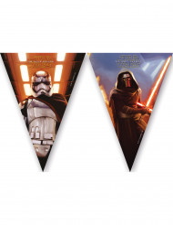 Wimpel-Girlande Star Wars VII Lizenzartikel Partydekoration mehrfarbig 2,3 m lang