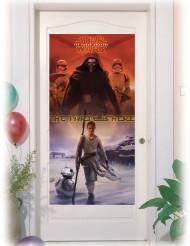 Türposter - Star Wars VII Lizenzartikel Partydekoration mehrfarbig 75 x 150 cm