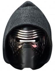 Kylo Ren-Erwachsenenmaske Star Wars VII™ schwarz