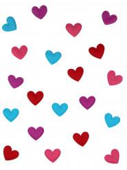 Partykonfetti Herzen Valentinstag 20 Stück bunt
