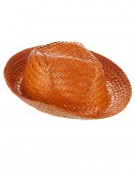 Panama-Hut Stroh-Hut orange