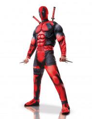 Deadpool™ Kostüm Marvel Comic Lizenzartikel schwarz-rot