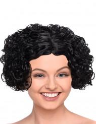 Lockige kurzhaar Perücke Damen schwarz