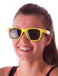Stylishe Sonnenbrille für Erwachsene neongelb