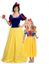 Prinzessin Mutter und Tochter Paarkostüm-Set gelb-blau-rot