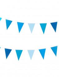 Wimpelkette Girlande blau 2,00m