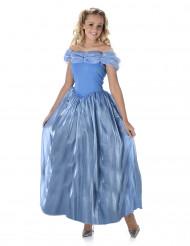 Märchen-Prinzessin Damenkostüm hellblau