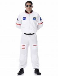Astronaut Kostüm Raumfahrer weiss-bunt