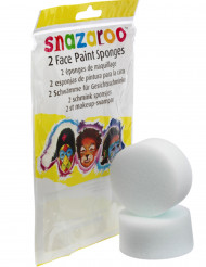 Lizenzartikel Snazaroo Schwamm 2 Stück weiss