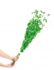 Kurze Fetzen Konfettikanone Party Bombe grün