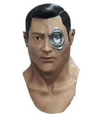 Terminator Genisys T-1000 Maske Cyborg hautfarben-silber