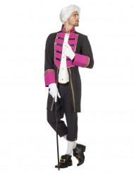 Garde Offizier Kostüm schwarz-weiss-pink