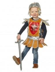 Kleiner Ritter Kinderkostüm Mittelalter braun-silber