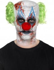 Killerclown Make-up Set für Halloween bunt