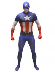 Marvel Captain America Value Morphsuit Lizenzware blau-weiss-rot