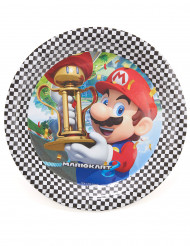 Mario Kart™-Teller Nintendo®-Lizenzartikel 8 Stück bunt 23cm