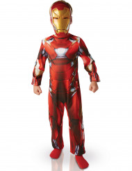 Marvel Civil War Iron Man Kinderkostüm Lizenzware rot-gold