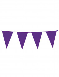 Wimpel-Girlande Party-Deko violett 10m