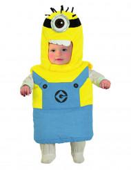 Minions™ Babykostüm Lizenzartikel blau-gelb