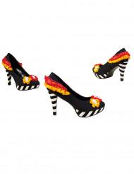 Tag der Toten Schuhe High Heels bunt