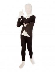 Morphsuit Anzug Kinder schwarz-weiss