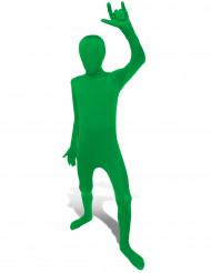 Kinder Morphsuit Ganzkörperanzug grün
