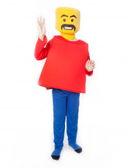 Morphsuit Spielfigur Kinder gelb-rot-blau