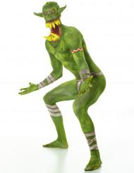 Ork Morphsuit Halloween Monster grün