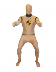 Crash Test Dummy Morphsuit beige-schwarz