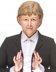 Angela Maske Politikerin hautfarben-blond