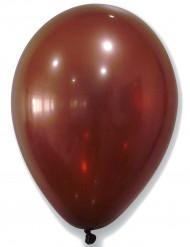 50 Luftballons metallic-braun