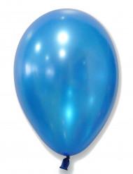Luftballon-Set in metallic blau 50-teilig