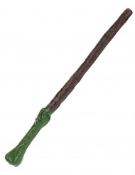 Magischer Zauberstab Kostümaccessoire braun-grün 35cm