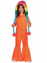 70er Jahr Overall für Kinder orange